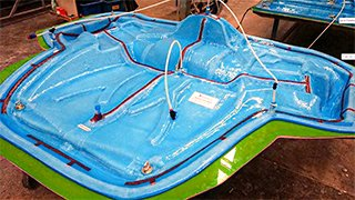 bag de silicone fabricando varias peças ao mesmo tempo