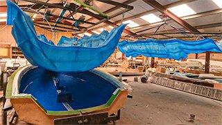 produção de lanchas speed boats barracuda fibra de vidro